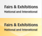 Fairs and Exhibitions, National and International